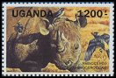 Cl: Red-billed Oxpecker (Buphagus erythrorynchus) SG 992a (1991) 700