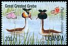 Cl: Great Crested Grebe (Podiceps cristatus) SG 1450 (1995)