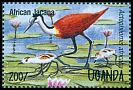 Cl: African Jacana (Actophilornis africanus)(Repeat for this country)  SG 1457 (1995)