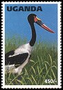 Cl: Saddle-billed Stork (Ephippiorhynchus senegalensis)(Repeat for this country)  SG 1639 (1996) 50