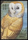 Cl: Barn Owl (Tyto alba)(Repeat for this country)  SG 2090 (1999)