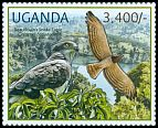 Cl: Beaudouin's Snake-Eagle (Circaetus beaudouini)(I do not have this stamp)  new (2012)  [7/55]