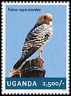 Cl: Greater Kestrel (Falco rupicoloides)(I do not have this stamp)  new (2014)
