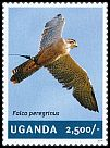 Cl: Peregrine Falcon (Falco peregrinus)(I do not have this stamp)  new (2014)