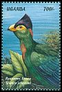 Cl: Ruwenzori Turaco (Ruwenzorornis johnstoni)(Repeat for this country)  SG 2108 (1999)
