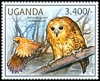 Cl: Pel's Fishing-Owl (Scotopelia peli)(I do not have this stamp)  new (2012)  [7/55]