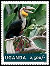 Cl: Wreathed Hornbill (Aceros undulatus)(Out of range) (I do not have this stamp)  new (2014)