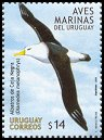 Cl: Black-browed Albatross (Thalassarche melanophris) <<Albatros de Ceja Negra>>  SG 2882 (2004) 550 [2/28]