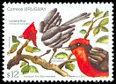 Cl: Vermilion Flycatcher (Pyrocephalus rubinus)(Repeat for this country)  SG 3329 (2012) 550