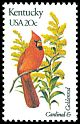 Cl: Northern Cardinal (Cardinalis cardinalis)(Repeat for this country)  SG 1946 (1982) 90
