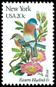 Cl: Eastern Bluebird (Sialia sialis)(Repeat for this country)  SG 1961 (1982) 90