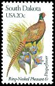 Cl: Ring-necked Pheasant (Phasianus colchicus)(Introduced)  SG 1970 (1982) 90