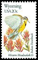 Cl: Western Meadowlark (Sturnella neglecta)(Endemic or near-endemic)  SG 1979 (1982) 90