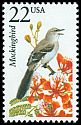 Cl: Northern Mockingbird (Mimus polyglottos)(Repeat for this country)  SG 2300 (1987) 140