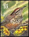 Cl: Cactus Wren (Campylorhynchus brunneicapillus)(Repeat for this country)  SG 3748e (2000) 90