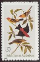 Cl: Scarlet Tanager (Piranga olivacea)(Repeat for this country)  SG 4152 (2002) 110