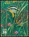 Cl: Western Meadowlark (Sturnella neglecta)(Repeat for this country)  SG 3975f (2001) 90