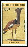 Cl: Kori Bustard (Ardeotis kori)(Out of range)  SG 702 (1984) 250