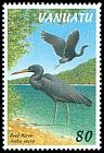 Cl: Pacific Reef-Heron (Egretta sacra)(Repeat for this country)  SG 755 (1997) 110