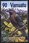 Cl: Mountain Starling (Aplonis santovestris) SG 850 (2001) 225 [1/8]