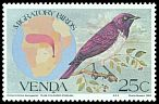 Cl: Violet-backed Starling (Cinnyricinclus leucogaster) SG 73 (1983) 60