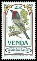 Cl: Black-collared Barbet (Lybius torquatus) SG 104 (1985) 35