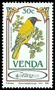 Cl: African Black-headed Oriole (Oriolus larvatus) SG 105 (1985) 40