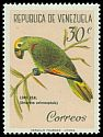 Cl: Yellow-crowned Parrot (Amazona ochrocephala) <<Loro real>>  SG 1694 (1961) 130
