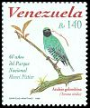 Cl: Swallow Tanager (Tersina viridis) <<Azulejo golondrina>> (Repeat for this country)  SG 3466 (1998) 210