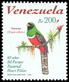 Cl: Collared Trogon (Trogon collaris) <<Sorocuá>> (Repeat for this country)  SG 3470 (1998) 300