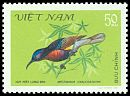 Cl: Copper-throated Sunbird (Leptocoma calcostetha) SG 416 (1981) 45
