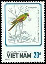 Cl: Red-winged Parrot (Aprosmictus erythropterus)(Out of range)  SG 1178 (1988)