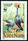 Cl: Grey Crowned-Crane (Balearica regulorum)(Out of range)  SG 1562 (1991)