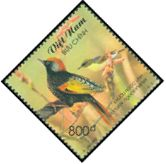 Cl: Golden-winged Laughingthrush (Garrulax ngoclinhensis) SG 2478 (2002)  [1/15]