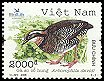 Cl: Orange-necked Partridge (Arborophila davidi) <<Ga so co hung>> (Endemic or near-endemic)  SG 2698 (2006)  [5/19]