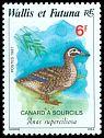 Cl: Pacific Black Duck (Anas superciliosa) <<Canard a sourcils>>  SG 520 (1987) 65