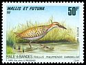 Cl: Buff-banded Rail (Gallirallus philippensis swindellsi) <<Râle à bandes>> (Repeat for this country)  SG 619 (1993) 200