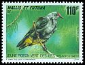 Cl: Crimson-crowned Fruit-Dove (Ptilinopus porphyraceus) <<Pigeon vert des îles>>  SG 621 (1993) 325
