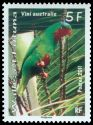 Cl: Blue-crowned Lorikeet (Vini australis)(Endemic or near-endemic)  SG 990 (2011) 35 [5/17]