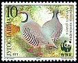 Cl: Rock Partridge (Alectoris graeca)(Repeat for this country)  SG 3239 (2000) 400