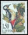Cl: Great Spotted Woodpecker (Dendrocopos major) SG 3074 (1997) 90