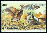 Cl: Kori Bustard (Ardeotis kori) <<Outardes koris>> (Out of range)  SG 1178 (1984) 575