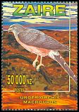 Cl: Long-tailed Hawk (Urotriorchis macrourus) SG 1484 (1996) 300