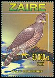Cl: Crowned Hawk-Eagle (Stephanoaetus coronatus) <<Aigle couronn&eacute;>>  SG 1482 (1996) 300
