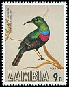 Cl: Shelley's Sunbird (Cinnyris shelleyi) SG 263 (1977) 55