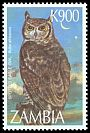 Cl: Spotted Eagle-Owl (Bubo africanus) SG 772 (1997) 90