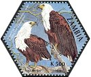 Cl: African Fish-Eagle (Haliaeetus vocifer)(Repeat for this country)  SG 934a (2004)  [3/55]