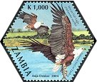 Cl: African Fish-Eagle (Haliaeetus vocifer)(Repeat for this country)  SG 934c (2004)  [3/55]