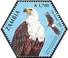 Cl: African Fish-Eagle (Haliaeetus vocifer)(Repeat for this country)  SG 934f (2004)  [3/55]