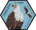 Cl: African Fish-Eagle (Haliaeetus vocifer)(Repeat for this country)  SG 1143h (2004)  [3/55]